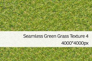 Seamless Green Grass Texture 4