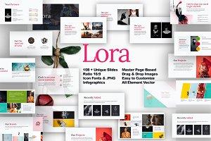 Lora presentation template
