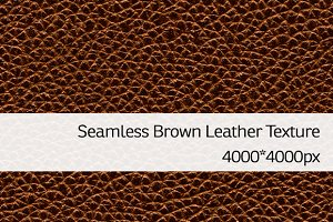 Seamless Brown Leather Texture