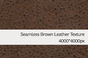 Seamless Brown Leather Texture 3