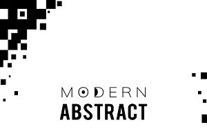 Abstract modern template