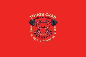 Tough Crab Logo Template