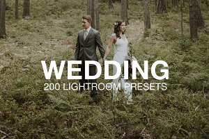 Wedding Presets Bundle (200 Pack)