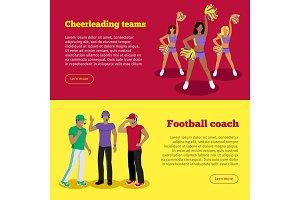 Cheerleading Teams and Football