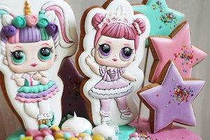 Gingerbread gingerbread doll LOL