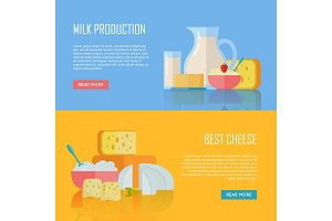 Milk Production and Best Cheese