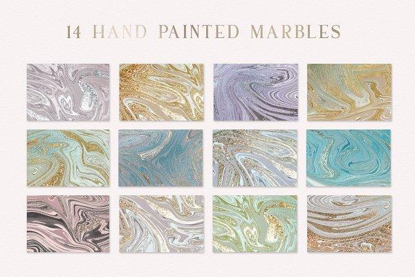 Modern Marbles Textures Vol 01