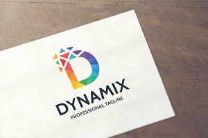 Letter D - Dynamix Logo