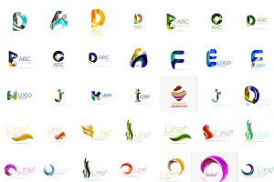 Great collection of modern logotypes