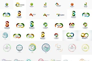 Nice collection of business logos