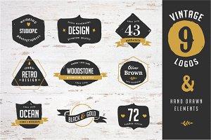 9 Vintage Logo designs