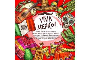 Cinco de Mayo, viva Mexico frame