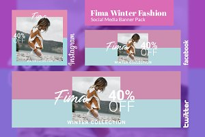 Social Media Banner Pack - Fima