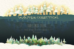 WINTER COLLECTION Christmas Trees