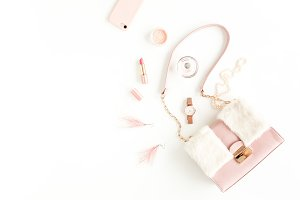 Women's pink bag