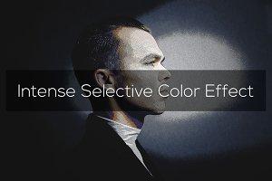 Intense Selective Color Effect