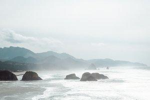 Cannon Beach - White Caps