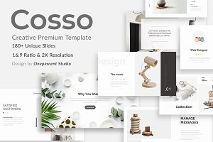 Cosso Minimal Project Powerpoint Tem