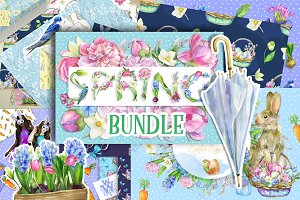 Huge Spring and Easter bundle