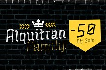 Alquitran Family -50% All Bundle by  in Display Fonts