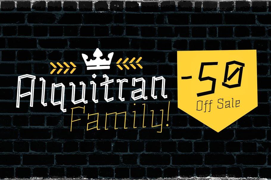 Alquitran Family -50% All Bundle