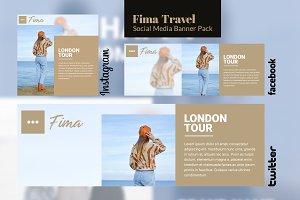 Social Media Pack - Fima Travel