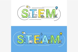STEAM and STEM Education Approach