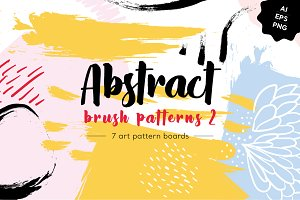 Abstract Brush Patterns 2