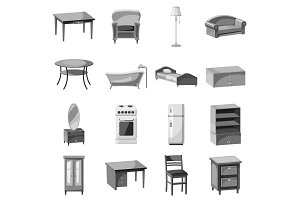 Furniture and household appliances