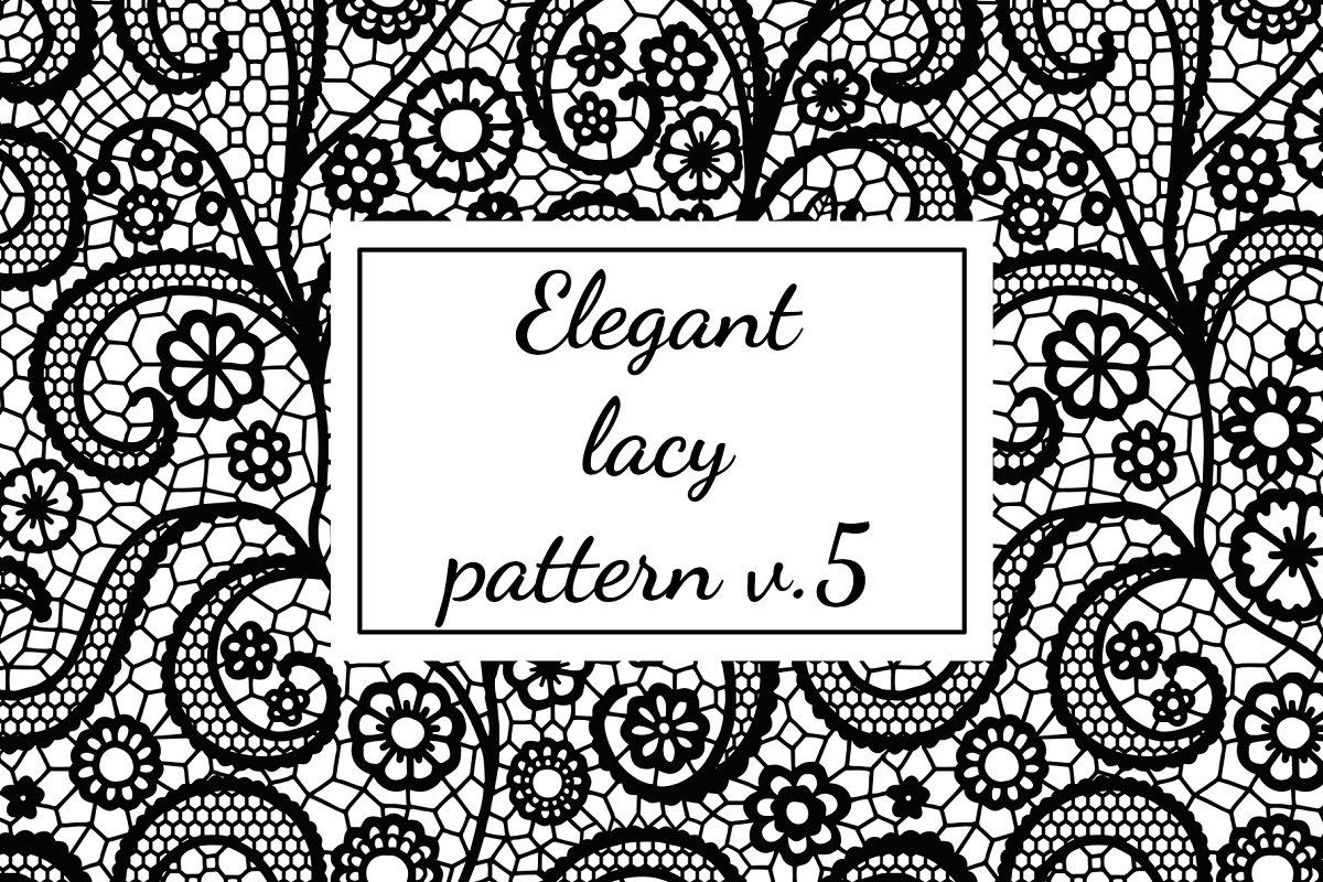 Elegant lacy pattern v.5