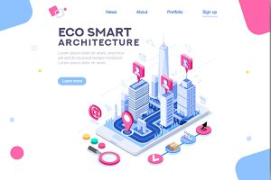 Eco Smart City Template