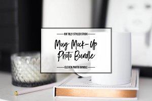 Styled Mug Mock-up Bundle