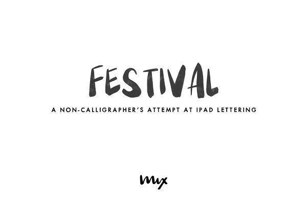Festival — A Handwritten Font Duo
