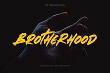 Brotherhood - Brush Script Font