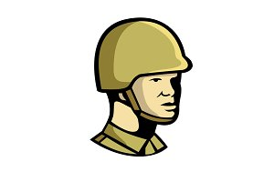 Chinese Communist Soldier Icon