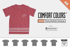 Comfort Colors 6030 Adult Pocket Tee