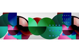 Abstract background, geometric