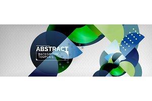 Circle vector abstract geometric