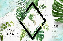 50%OFF Tropical Alphabet Design Kit