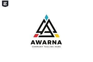 Awarna Letter A Logo