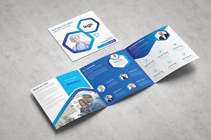 Medical Square Tri fold Brochure