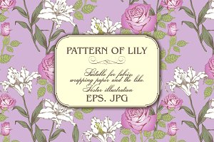 PATTERN OF LILY