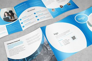 Corporate Square Tri fold Brochure