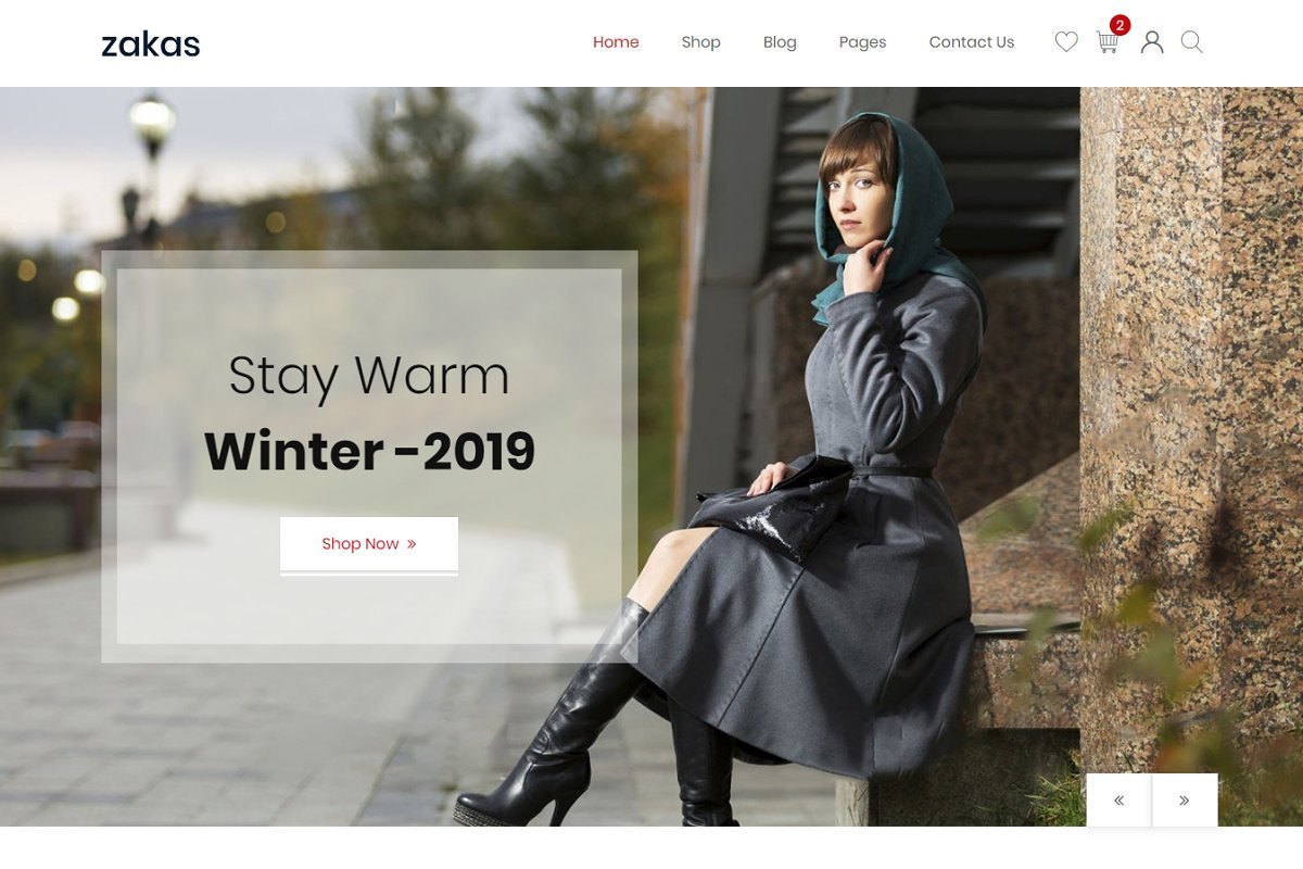 Zakas - Fashion eCommerce Template