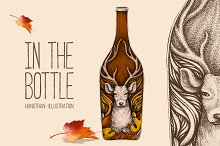 IN THE BOTTLE by  in Illustrations