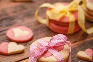 Homemade Valentines cookies
