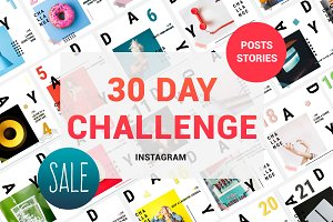30 Day Challenge Instagram Pack