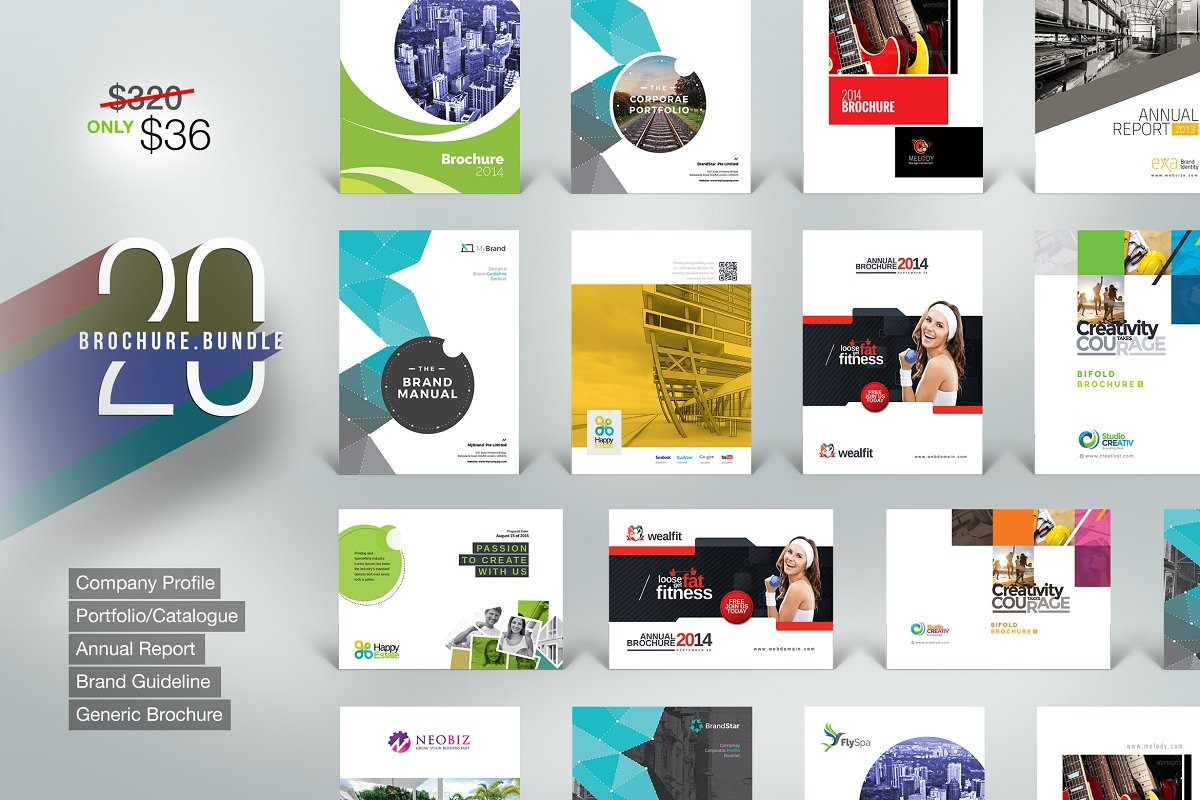Brochure Bundle | 20 in 1