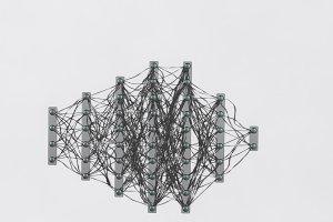 Neural net. Neuron network. Deep