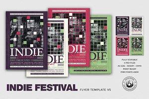 Indie Fest Flyer Template V5